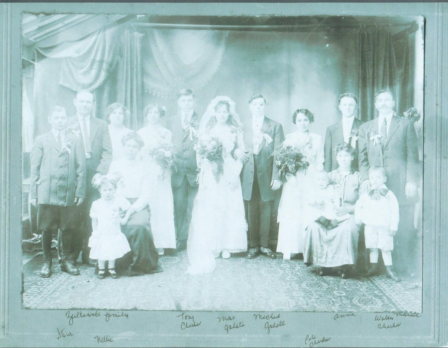 .Cherkas Wedding about 1915.