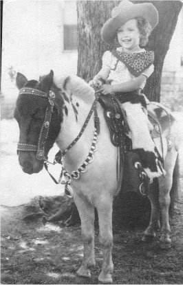 .Ginny on a Horse.
