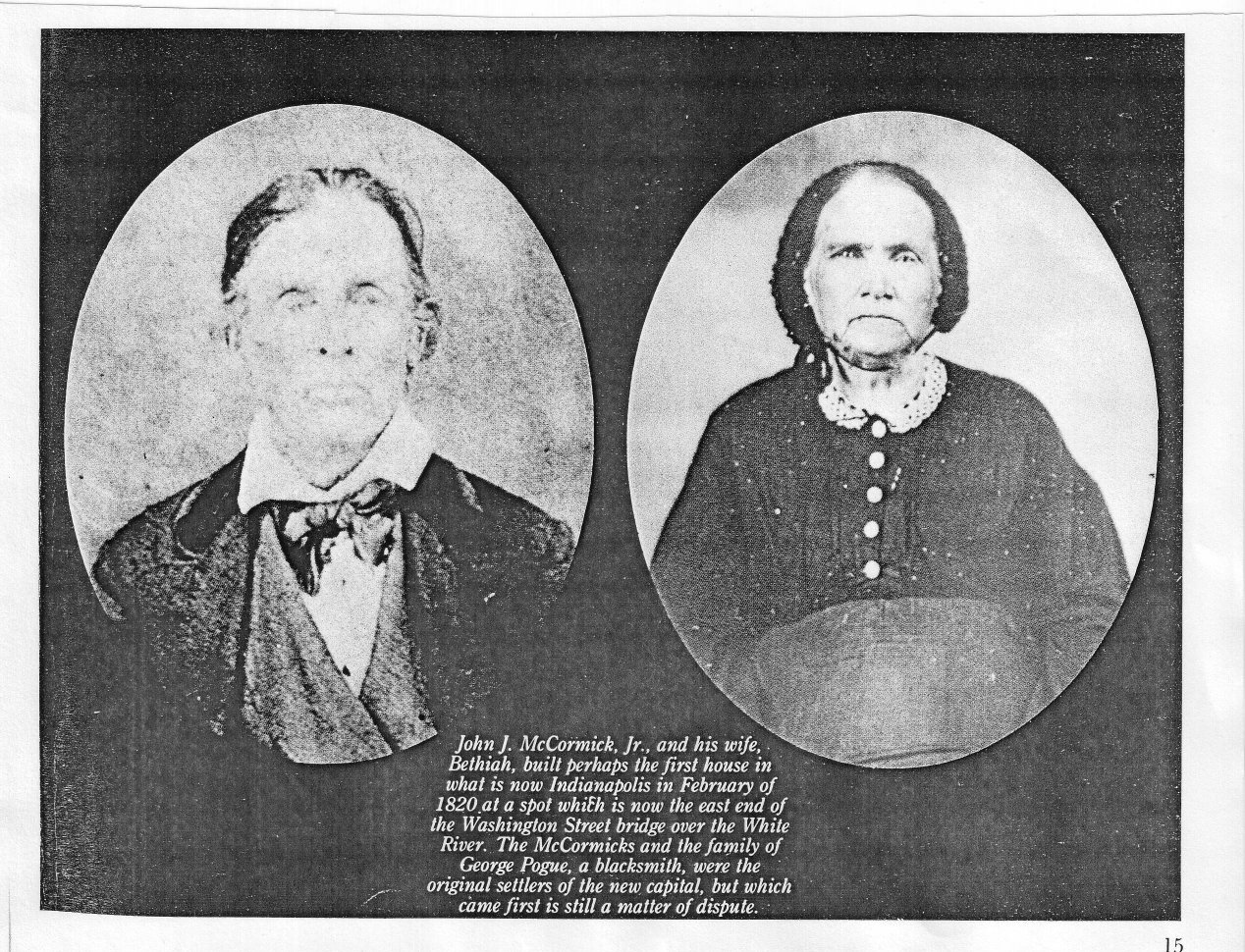 .John J. McCormick Jr. and his wife Bethiah.
