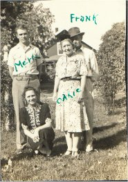 .Merle Frank Oakie and Aunt Sally.