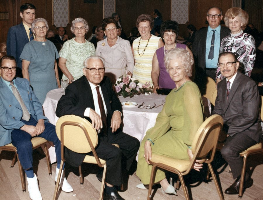 .Cherkas Family Picture <br>Taken June 26th 1971 at the wedding of Richard Shapren and Anne Gold.