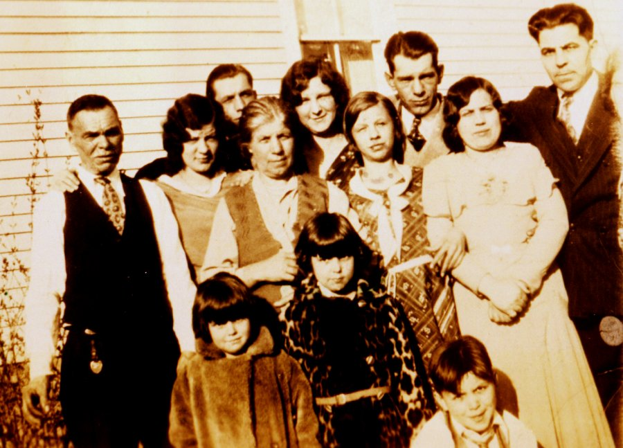 .Cherkas Family Photo thought to be around 1931.